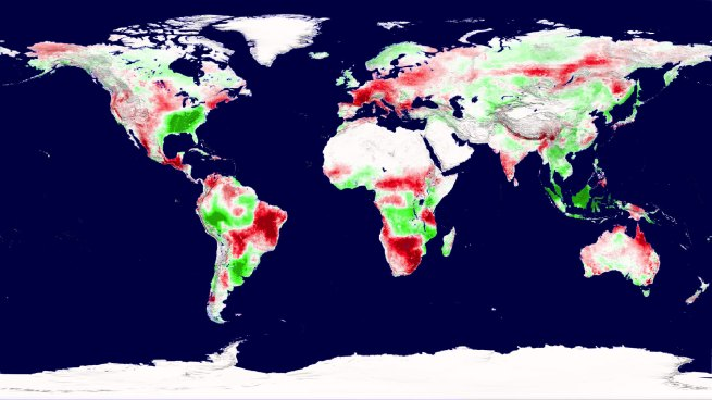 NASA - Global Crop Production