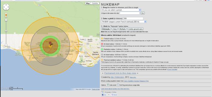 Nuke Map - Maps.com